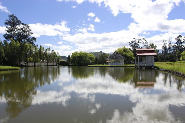 Ecuador, Lake, Nature, Quito, The Merced, Clouds, Sky
