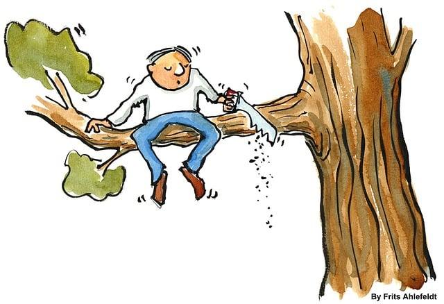 Branch, Change, Businessman, Man, People, Quitting