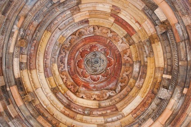 Qutb Minar, Dome, Top, Qutab Minar, India, Travel