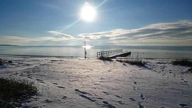 Råå Beach, Winter, Skåne