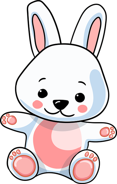 Rabbit, Hare, Bunny, Cute, Ears, Good, Character