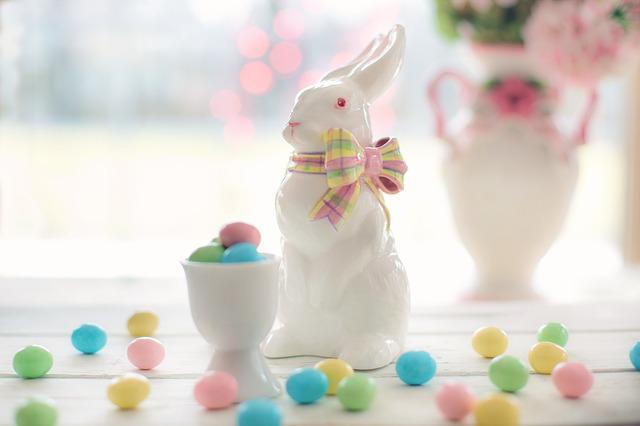 Easter, Bunny, Candy, Pink, Pastels, Rabbit, Holiday