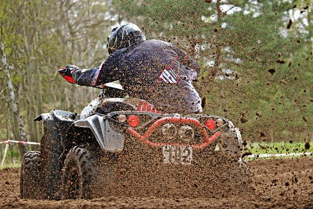 Atv, Mud, Motocross, All-terrain Vehicle, Cross, Race