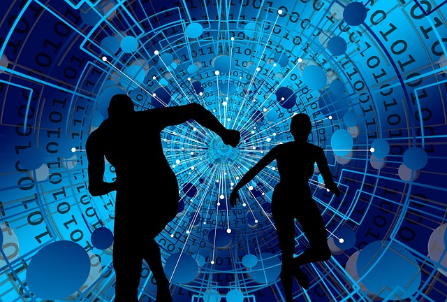Web, Network, Digitization, Escape, Person, Race