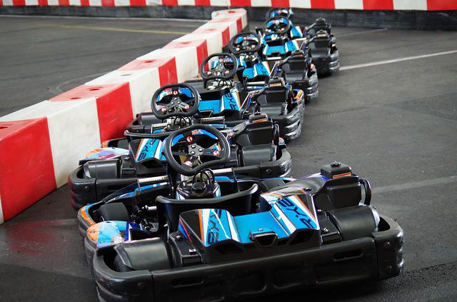 Go Karts, Race, Ride
