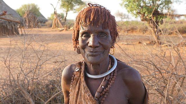Hamer, Race, Woman, Old Woman, Ethiopia, Homo Valley