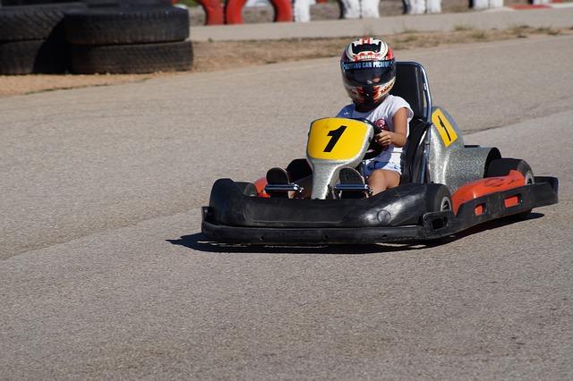 Go-kart, Race, Go Kart Track, Kart, Cart, Los, Helm