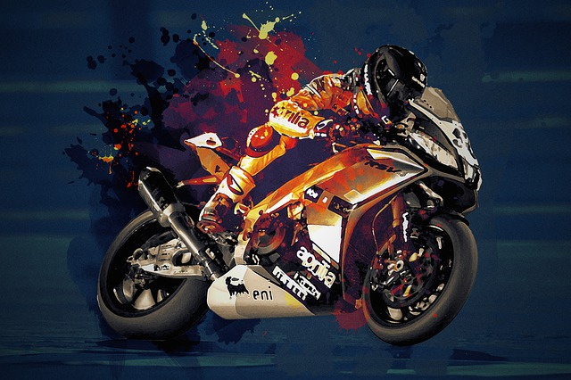 Motorcycles, Race, Helmet, Pilot, Competition, Sport