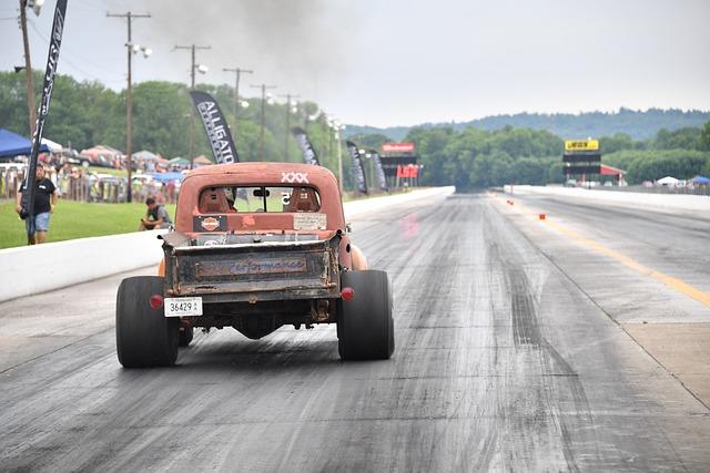 Drag, Racing, Truck, Diesel, Race, Starting, Line