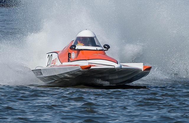 Powerboat, Racing Boat, Motor Boat Race, Waters