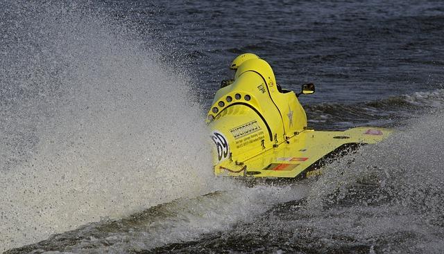 Racing Boat, Water Sports, Waters, Motor Boat Race