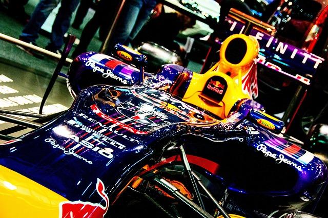 Racing Car, Fair, Auto, Car Show, Red Bull, Formula 1