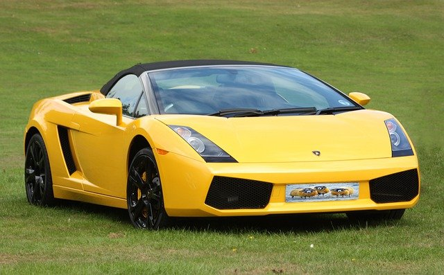 Sportscar, Car, Sports, Racing Car, Racing, Yellow