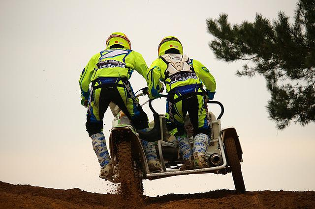 Sidecar, Motorcycle, Race, Motocross, Racing, Cross