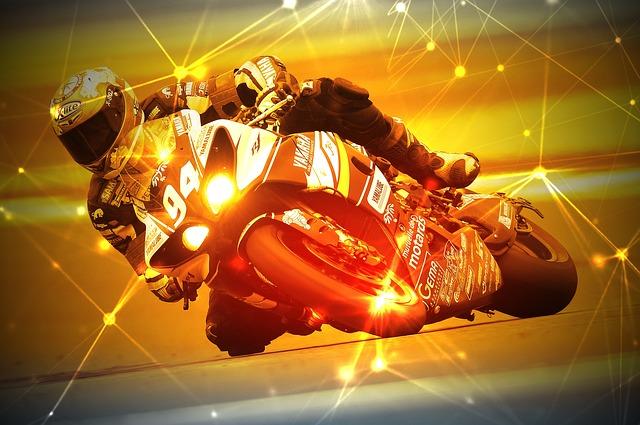 Motorcycle Racer, Racing, Race, Speed, Bike