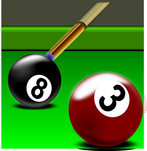 Billiard, Pool, Rack, Cue, Snooker, Sport, Playing