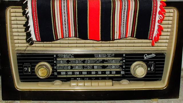 Radio, Retro, Vintage, Old, Box, Antique