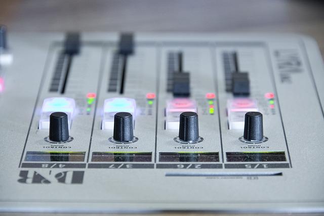 Radio, The Console, Mixer, Sound, Music, Dj, Mix