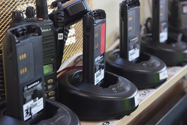 Walkie Talkie, Emergency, Radio, Battery, Phones