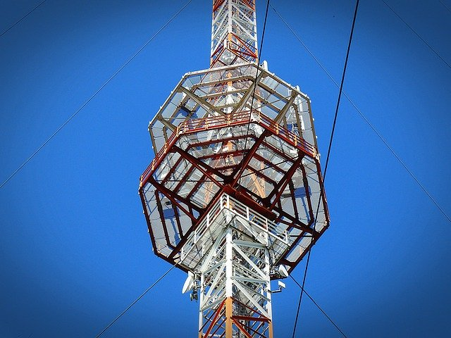 Radio Mast, Transmission Tower, Platform, Radio Tower