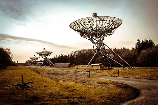 Radio Telescope, Westerbork, Netherlands, Technology