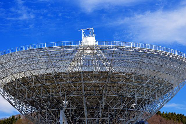 Radio Telescope, Effelsberg, Eifel, Space, Telescope