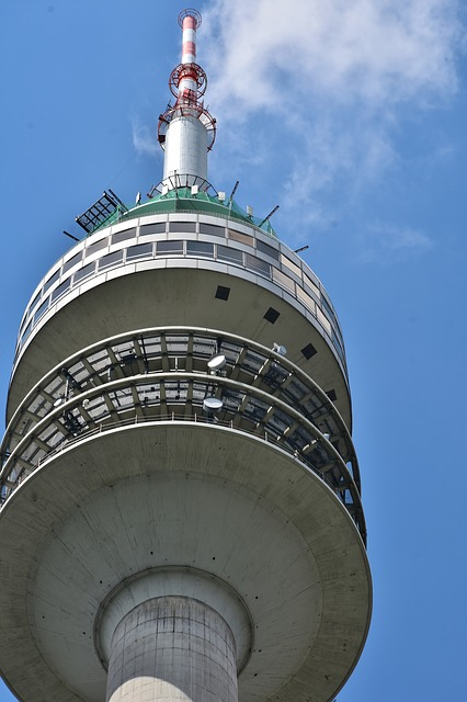 Tower, Olympia Tower, Transmitter, Radio Tower
