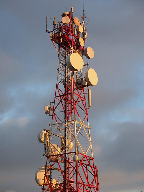 Radar Equipment, Antennas, Radio Tower, Radio Mast