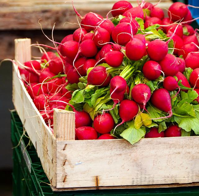 Radishes, Vegetables, Food, Nutrition, Vitamins