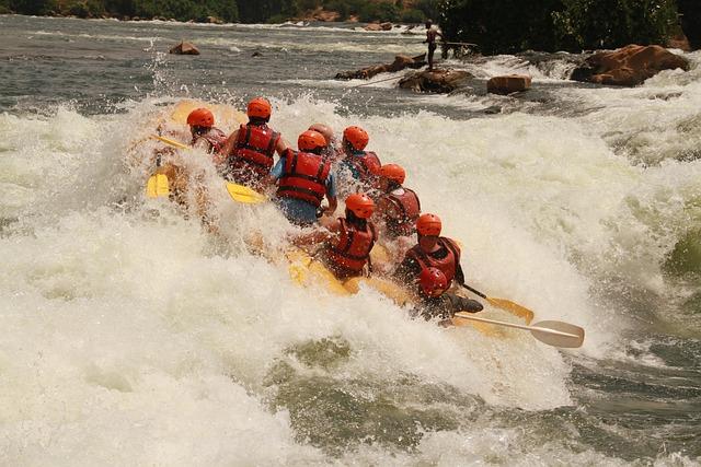 White Water Rafting, Rafting, Nile, River, Uganda