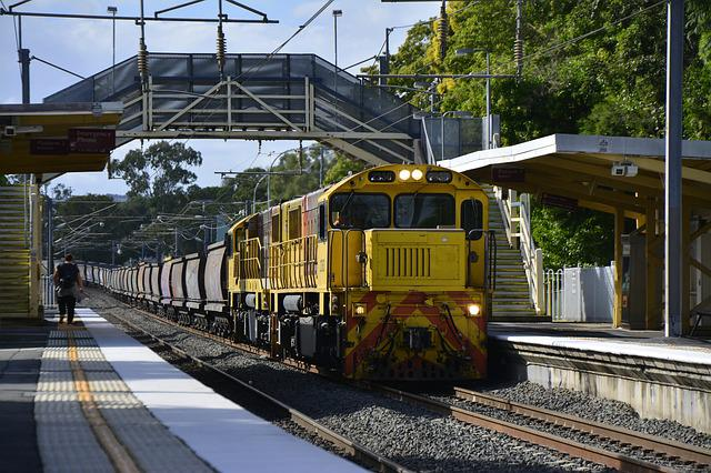 Brisbane, Ipswich, Train, Rail, Railway, Transport