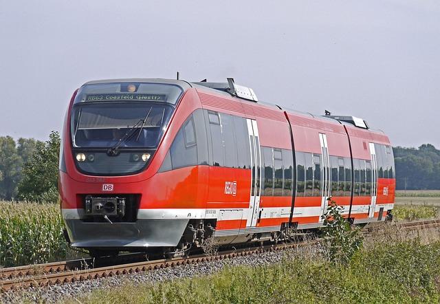 Regional Train, Rail- Cars, Talent, Branch Line