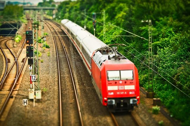 Railway, Train, Transport, Rails, Rail Traffic