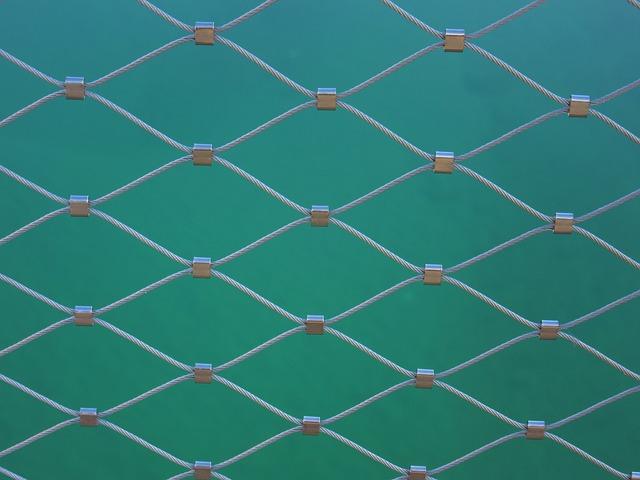 Wire, Railing, Bridge Railing, Regularly, Pattern