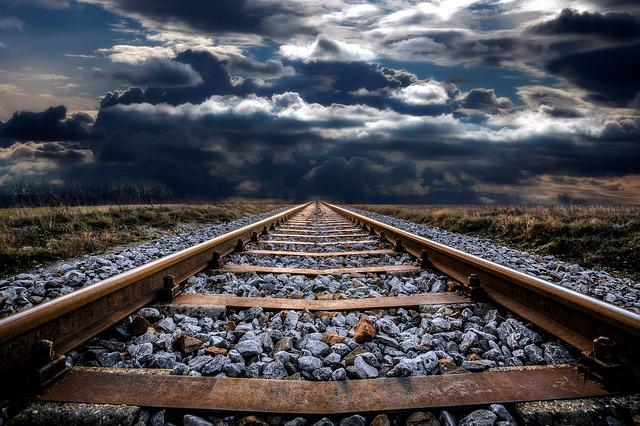 Railway Track, Abandoned, Railroad, Railway, Track, Old