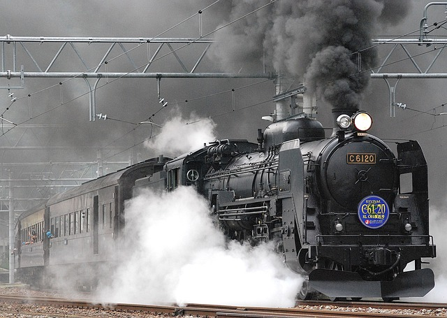 Japan, Train, Railroad, Railway, Steam, Locomotive