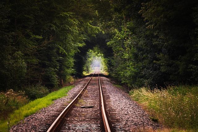 Rails, Tracks, Railroad Tracks, Railway Tracks