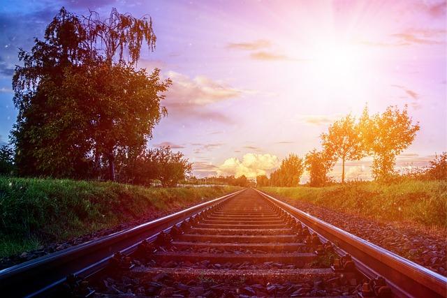 Gleise, Railway Tracks, Rails, Railroad Tracks, Railway