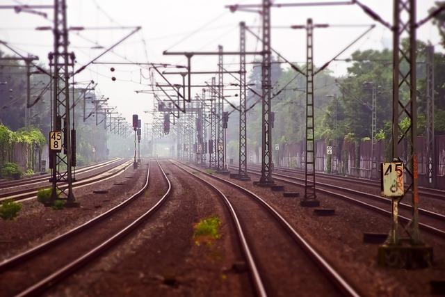Railway Tracks, Railway, Railroad Tracks, Track