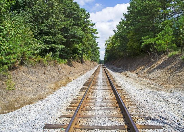 Railway, Transit, Rail, Train, Railroad, Track, Travel