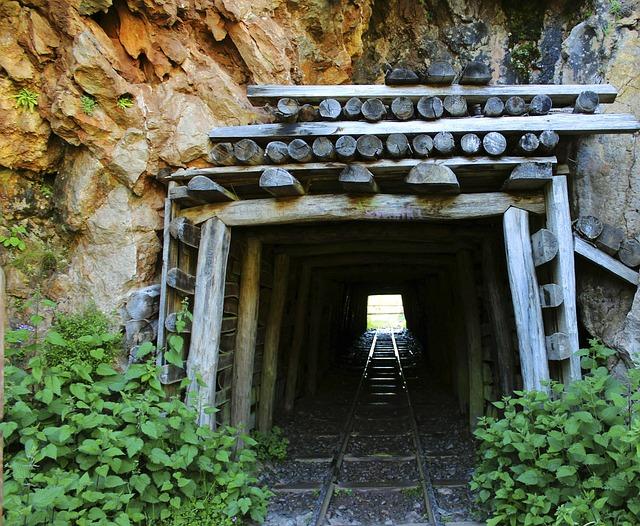 Mine, Via, Abandoned, Impaired, Old, Rails