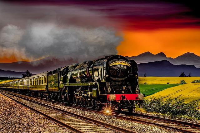Motor, Railway, Rails, Train, Race Track, Transport