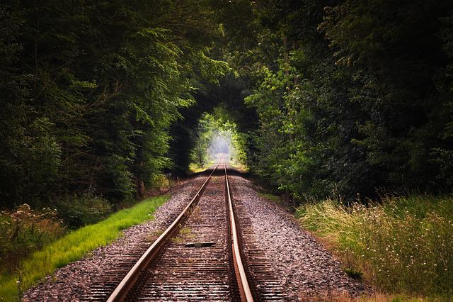 Gleise, Rails, Train, Railway Embankment, Railway Rails