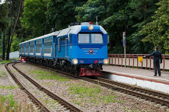 Locomotive, Diesel Locomotive, Cars, Train, Rails