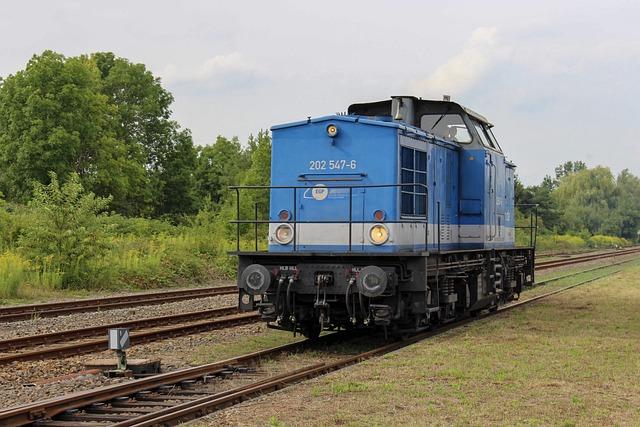 Railway Company Potsdam, Egp, Diesel Locomotive