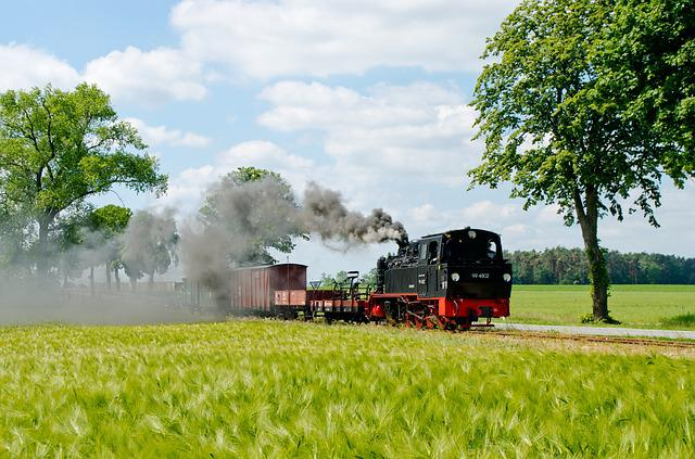 Steam Locomotive, Historically, Locomotive, Railway