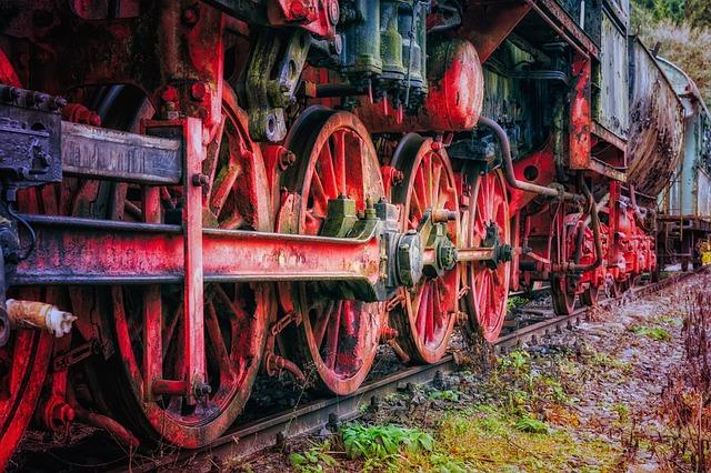 Locomotive, Railway, Steam Locomotive, Historically