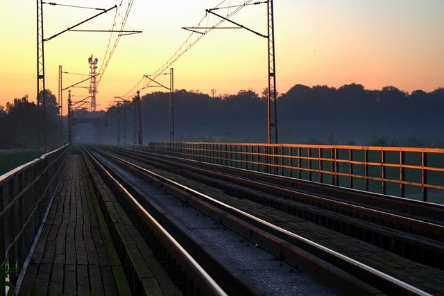 Railway, Railway Line, Tracks, The Viaduct, Bridge