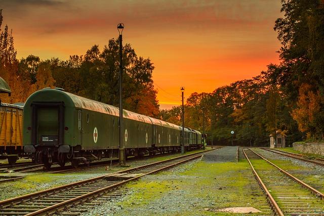 Old, Vintage, Railway, Train, Railway Line