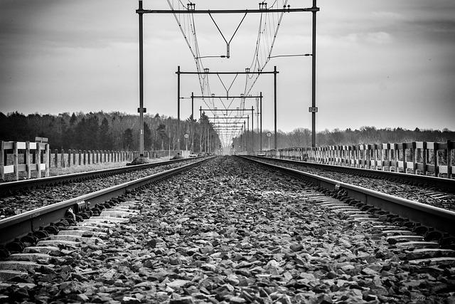 Railway Line, Transport, Train